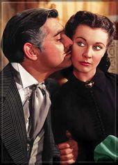 Gone With The Wind - Rhett Kisses Scarlett -