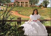 Gone With The Wind - Scarlett At Tara Laughing -