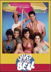 "Saved By The Bell - Cast Photo Magnet 2 1/2"" x 3"