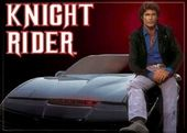 "Knight Rider - Photo Magnet 2 1/2"" x 3 1/2"""