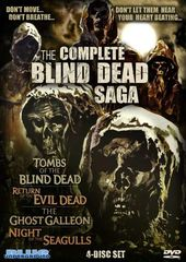 The Complete Blind Dead Saga (4-DVD)