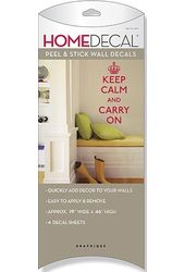 Keep Calm And Carry On - Wall Decals Stick On