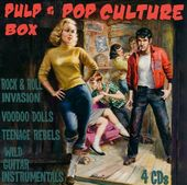 Pulp & Pop Culture Box: Rock & Roll Invasion /