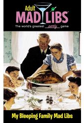Word & Word Search: My Bleeping Family Mad Libs