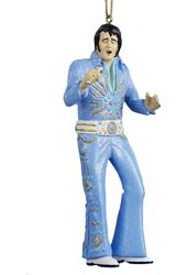 Elvis Presley - Blue Tiffany Suit - Ornament