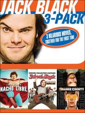 Jack Black 3-Pack: Nacho Libre / School of Rock /