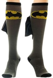 DC Comics - Batman - Caped Knee High Socks with