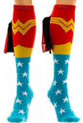 DC Comics - Wonder Woman - Caped Knee High Socks