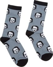 Edgar Allan Poe -Poe-ka Dot - Socks (Size Large)