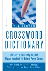 Puzzles: Bantam Crossword Dictionary