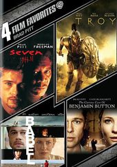 Brad Pitt: 4 Film Favorites (Seven / Troy / Babel