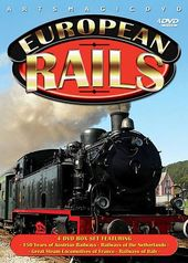 Trains - European Rails (4-DVD)