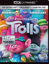 Trolls (Includes Digital Copy, 4K Ultra HD