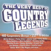 Very Best of Country Legends [Madacy] (2-CD)