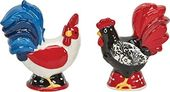 Damask Rooster - Salt & Pepper Shaker Set