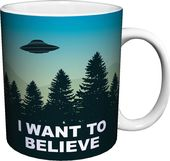 The X-Files - I Want To Believe Ceramic 11 oz.