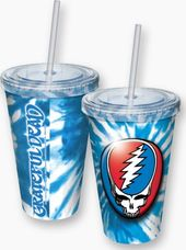 Grateful Dead - Steal Your Face Tie-Dye Cup With