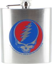 Grateful Dead - Steal Your Face - 6 oz. Flask