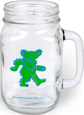 Grateful Dead - Dancing Bear Mason Jar