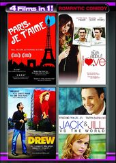 4 Films in 1! Romantic Comedy (Paris, Je T'Aime /