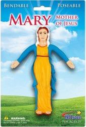 Mary Mother of Jesus - 6 inch Bendable