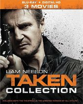 Taken Collection (Blu-ray)