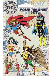 DC Comics - Female Superheroes - 4-Piece Magnet