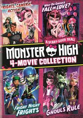 Monster High 4 - Movie Collection