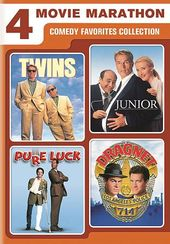 4-Movie Marathon: Comedy Favorites (Twins /