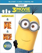Despicable Me 3-Movie Collection (Blu-ray + DVD)