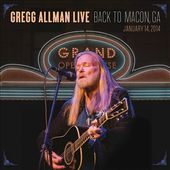 Live: Back to Macon, GA - January 14, 2014 (2-CD
