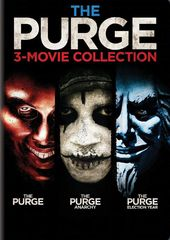 The Purge 3-Movie Collection (3-DVD)