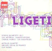 Ligeti: String Quartets 1 & 2; Ramifications;