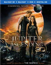 Jupiter Ascending 3D (Blu-ray + DVD)