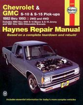 Haynes Chevrolet and Gmc S10 & S-15 Pickups