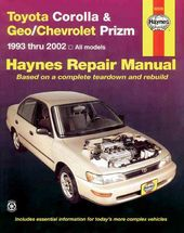 Toyota Corolla and Geo/Chev Prizm Auto Repair