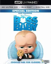 The Boss Baby (4K UltraHD + Blu-ray)