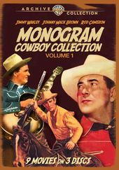 Monogram Cowboy Collection, Volume 1 (3-Disc)