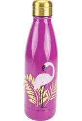 Bohemian Feathers - Stainless Steel Pink Double