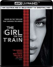 The Girl on the Train (Includes Digital Copy, 4K