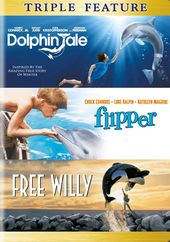 Dolphin Tale / Flipper / Free Willy (3-DVD)