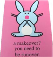 Happy Bunny - A Makeover? - Magnet