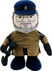George R.R. Martin Deluxe Talking Plush Signature
