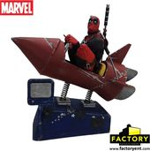 Deadpool - Rocket Ride - Premium Motion Statue