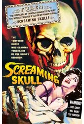"Screaming Skull - Large Poster (18"" x 24"")"