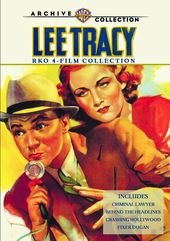 Lee Tracy RKO 4-Film Collection (Criminal Lawyer