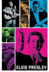 "Elvis Presley - Colors - Poster (24""x36"")"