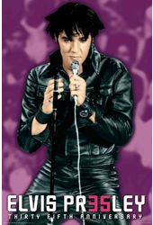 Elvis Presley - Black Leather Suit - Poster
