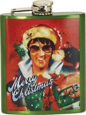 Elvis Presley - Christmas - Flask