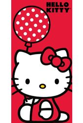 Hello Kitty - Ballon - Beach Towel